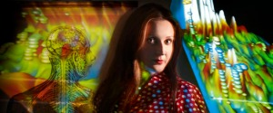 Augmented Consciousness artist Luciana Haill, photograph by Nick Wilson